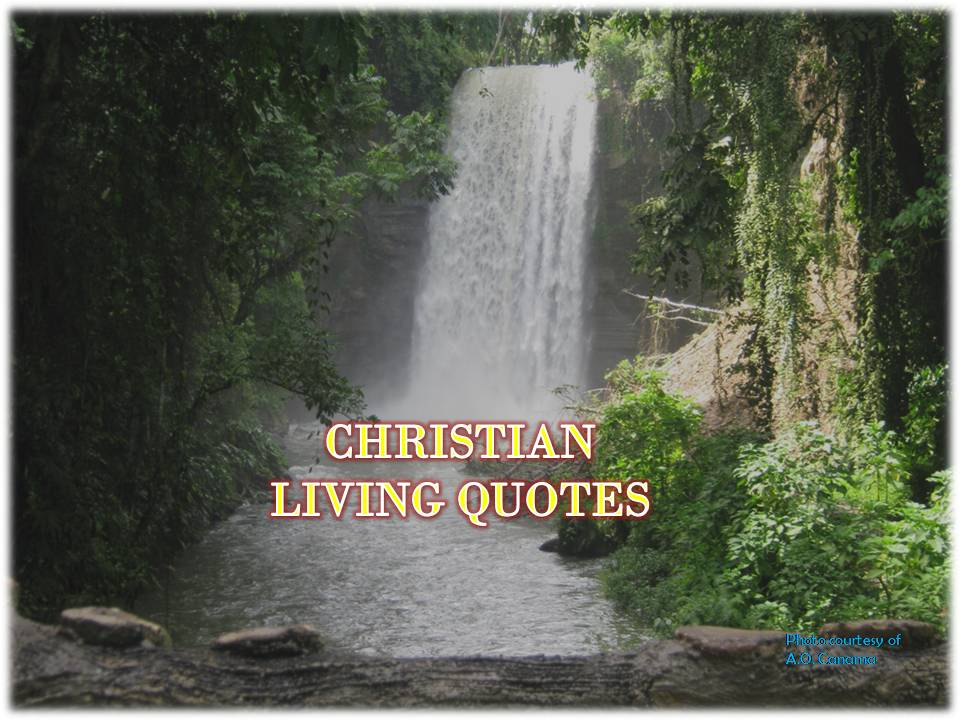 "alt= ""10 uplifting Christian Living Quotes. Explore and savor the majestic scenery of waterfalls of Lake Sebu, South Cotabato, Philippines."""""