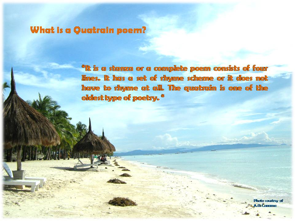 "Alt=""ANn examples and definition of a quatrain poem."""